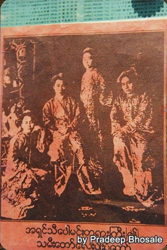 4姉妹(元写真はPradeep氏所有)