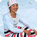 ヒマラヤの東、ミャンマーの雪山