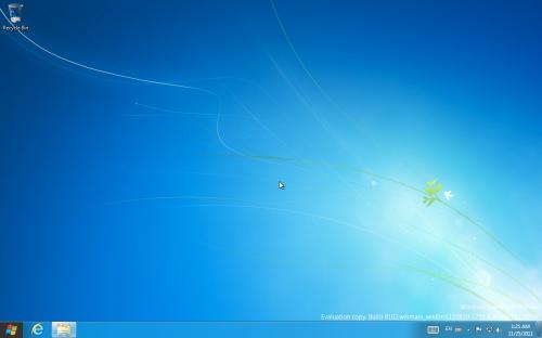 見慣れたWindowsの画面に変わった