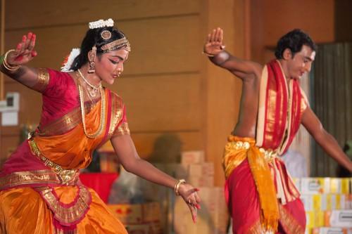 タミルの踊り