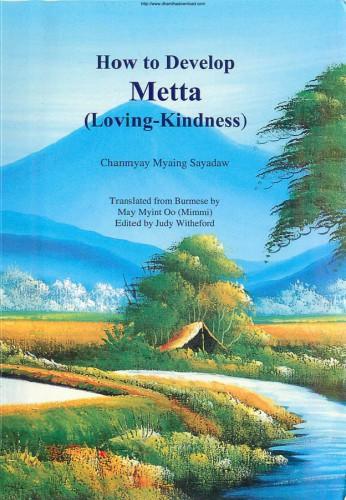 友人が送ってきてくれたMETTAの本