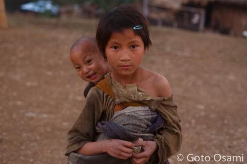 村の子ども