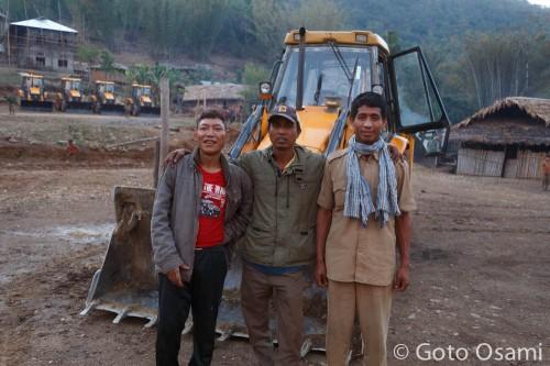 インド側工事関係者