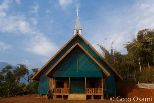 ポンニョン村の教会