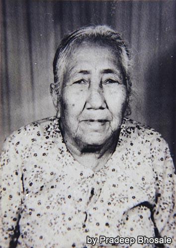 パヤージー王女の娘トゥトゥ(元写真はPradeeb氏所有)