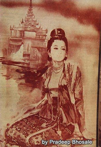 パヤージー王女(元写真はPradeeb氏所有)